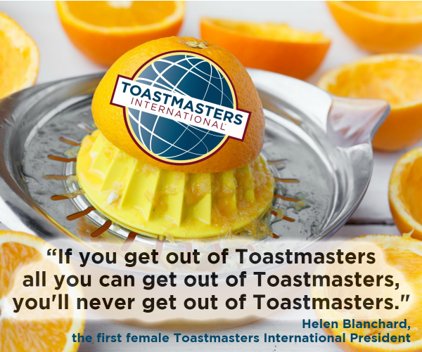 How To Get The Most Out Of Your Toastmasters Membership